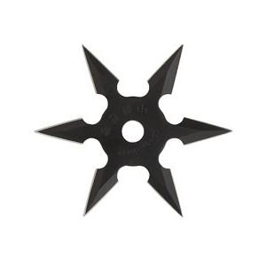 Etoile de jet noire 6 branches