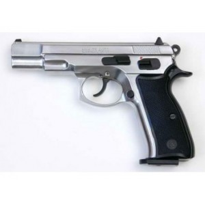 Pistolet de défense à blanc et à gaz KIMAR CZ 75 nickelé Cal.9mm PAK