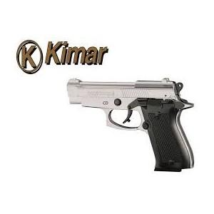 Pistolet de defense KIMAR 85 Nickelé Cal.9mm PAK