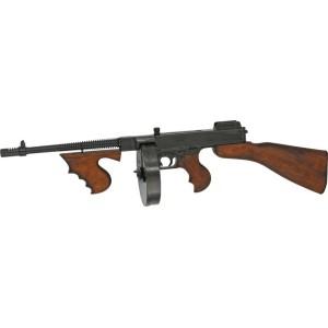 Pistolet - mitrailleur Thompson 1921 -chargeur camembert