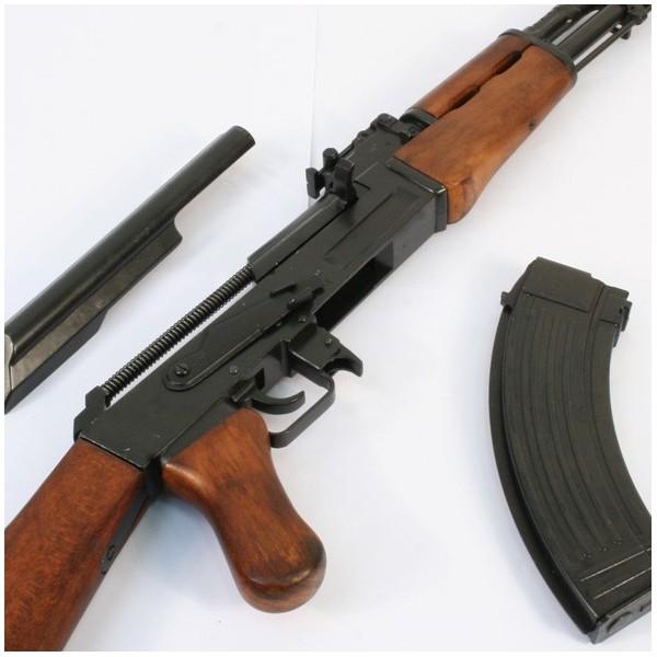 Fusil AK 47 avec crosse