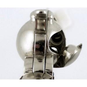 Revolver DENIX COLT 1873 single action nickelé