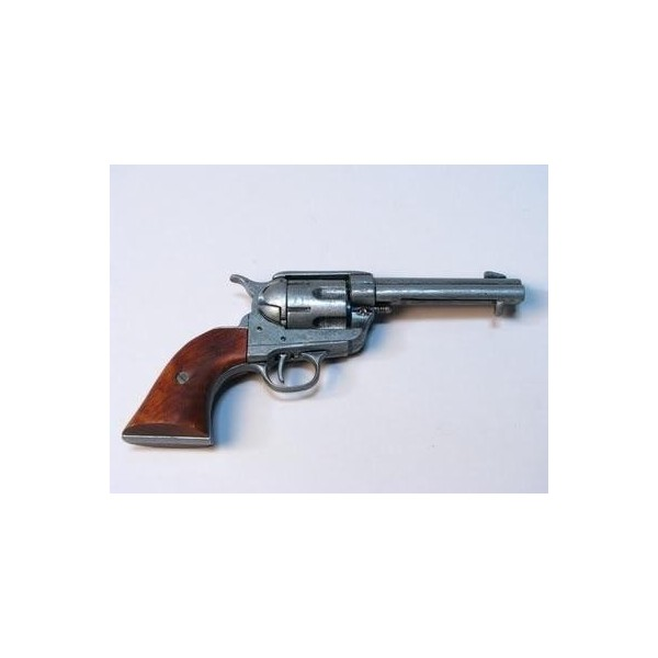 Revolver DENIX COLT 1873 single action nickelé