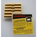 M,unitions à GAZ CS pour armes calibre 8 mm, 10 unités