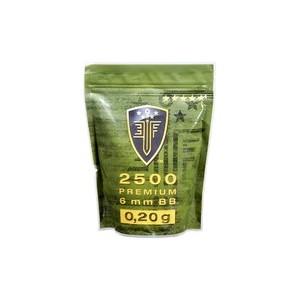 Bille plastique Premium Cal 6 mm : 0.20 g