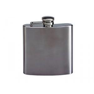 Flasque inox brossé