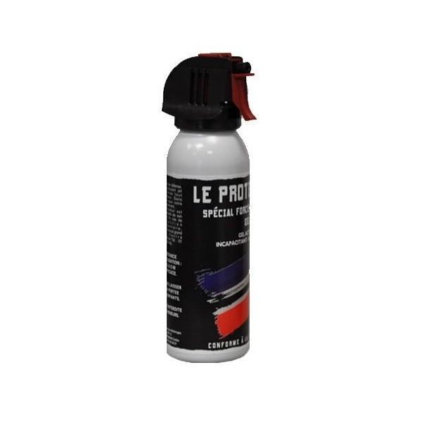 Bombe anti-agression gaz CS avec poignée-100 ml