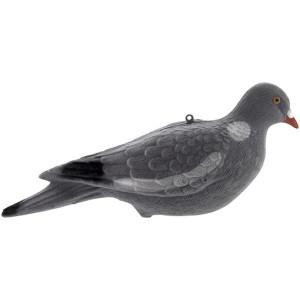 Pigeon sans pattes floqué