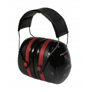 CASQUE PELTOR OPTIME III NOIR/ROUGE