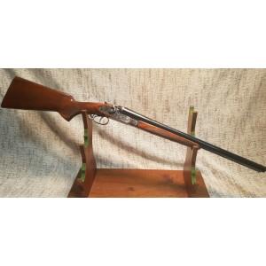 FUSIL JUXTAPOSE HUGLU COACH GUN A CHIENS CAL.12/76