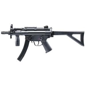 FUSIL D'ASSAUT CO2 UMAREX MP5 K-PDW CAL. 450 MM POLYMÈRE NOIR 5J-Armurerie gare de l'est Paris