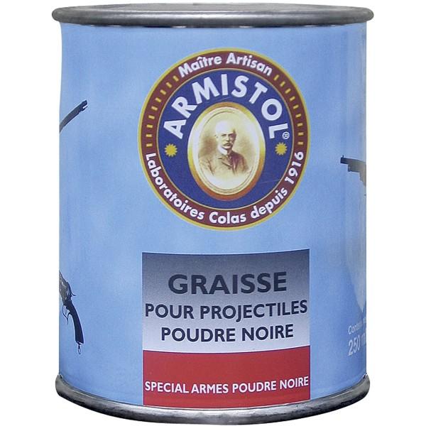 Graisse projectibles poudre noire, 250 ml