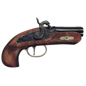 Révolver réplique poudre noire DERRINGER PHILADELPHIA, calibre 45 Perc.