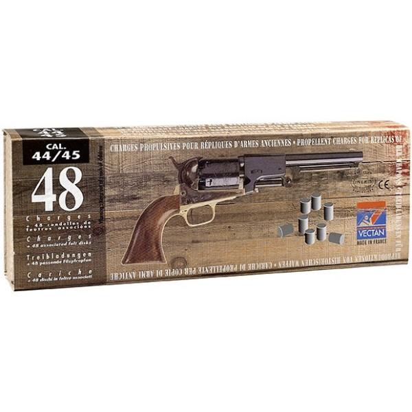 Charge poudre noire pour calibre 44/45