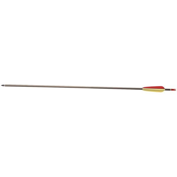 Flèche pour arc , pointe collée, en aluminium. POE LANG