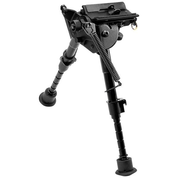 Bipied métallique, télescopique, hauteur ajustable : 15,24 à 22,86 cm