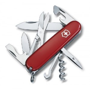 Couteau fermant CLIMBER  VICTORINOX -15 fonctions