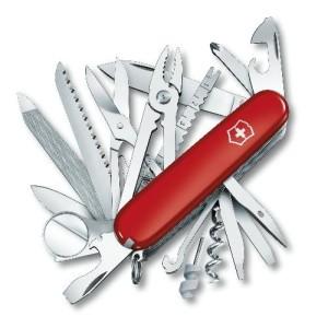 Couteau fermant SWISSCHAMP rouge VICTORINOX  -33 fonctions