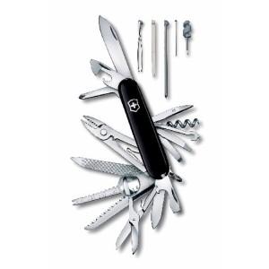 Couteau fermant SWISSCHAMP noir  VICTORINOX  -33 fonctions