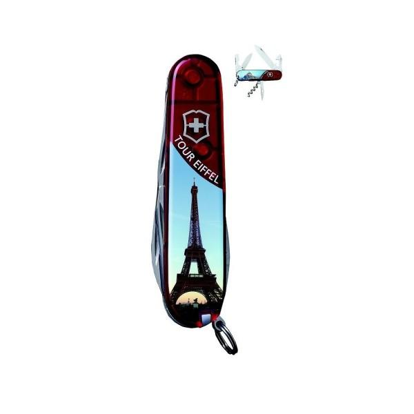 Couteau fermant les Touristiques VICTORINOX- Tour Eiffel