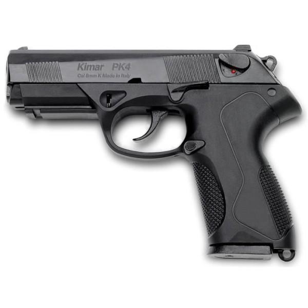 Pistolet de défense à blanc et à gaz Kimar PK 4 calibre 9mm PAK