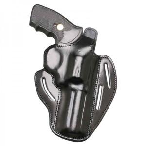 "Etui cuir revolver 4"" droitier"