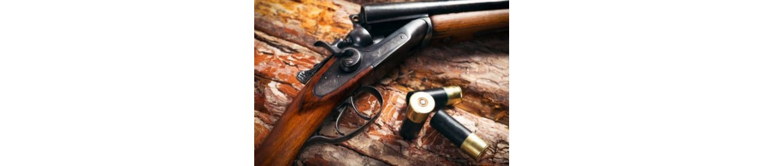 Fusils de chasse, armes et équipements de chasse